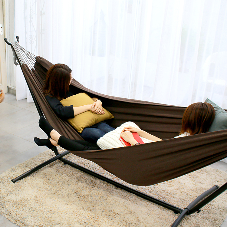 Freestanding Portable Hammock Double Size Sff 123 Sifflus
